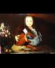 esempio di ritratto Sofia al liuto