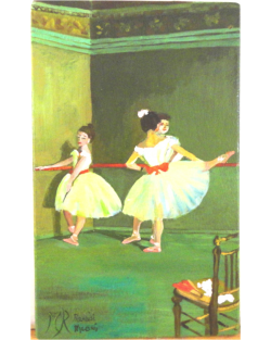 The dancers of Degas 1