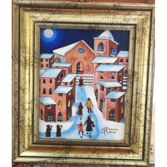 La Santa Messa di Natale con cornice