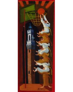 Siena, Basket e la torre del Mangia