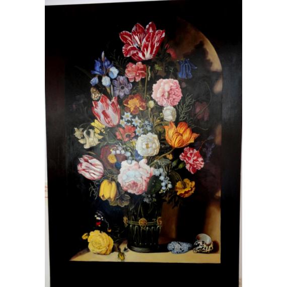 copia d'Arte Bouquet di fiori in un vaso