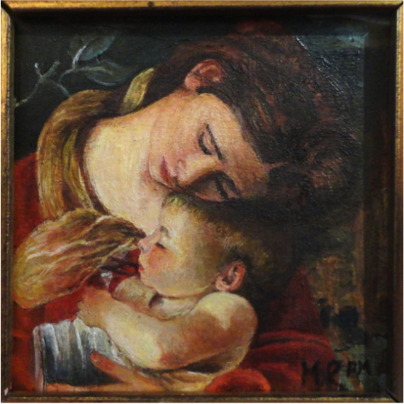 Rest on the Flight into Egypt - particular