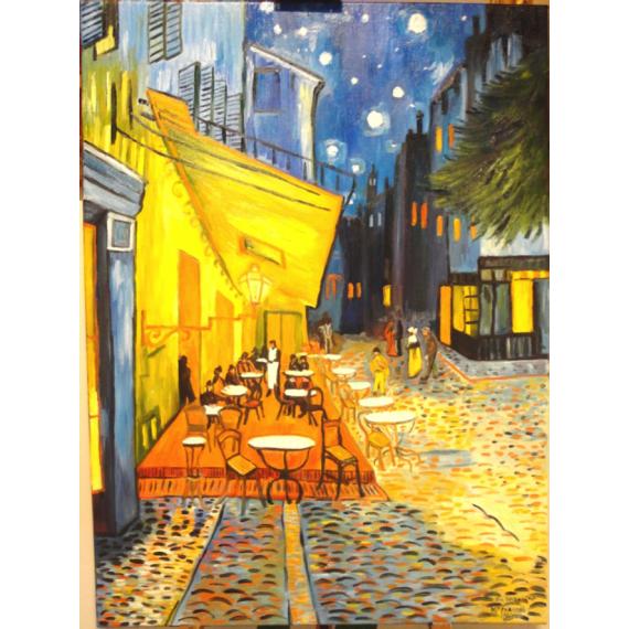 Copia d'Arte Terrazza del caffe la sera, Place du Forum, Arles