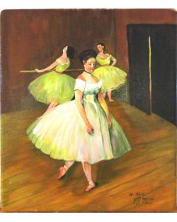 copia d'Arte Le ballerine di Degas