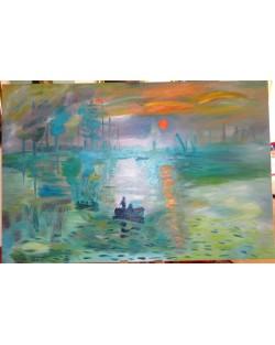 copia d'Arte Le soleil levant