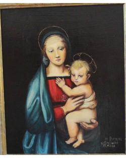 copia d'arte Madonna del Granduca