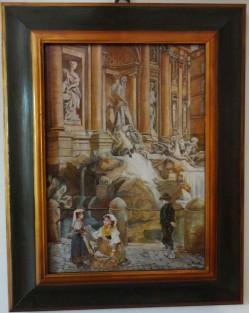 copia d'arte Fioraie a Fontana di Trevi