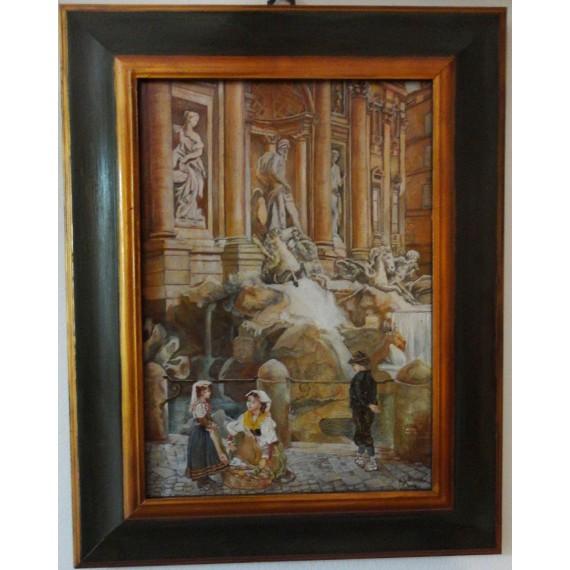 Fioraie a Fontana di Trevi