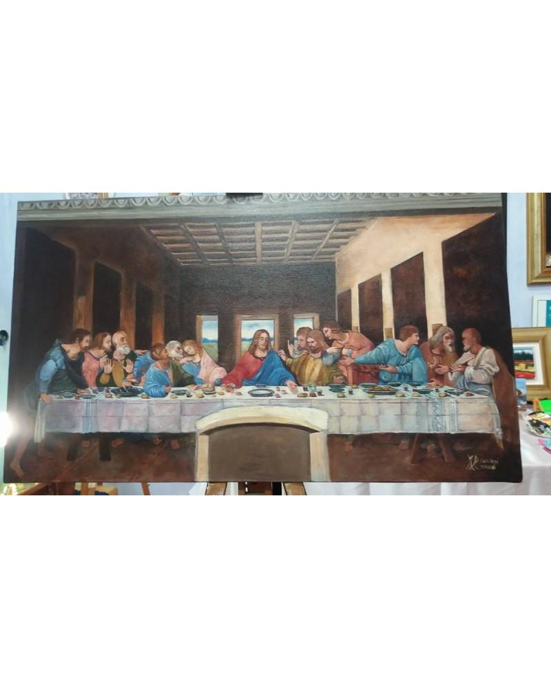 Il cenacolo di leonardo quadri arte italiana di maria for Il cenacolo bagno di romagna