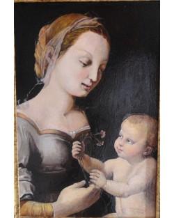 copia d'Arte Madonna dei garofani (Raffaello)