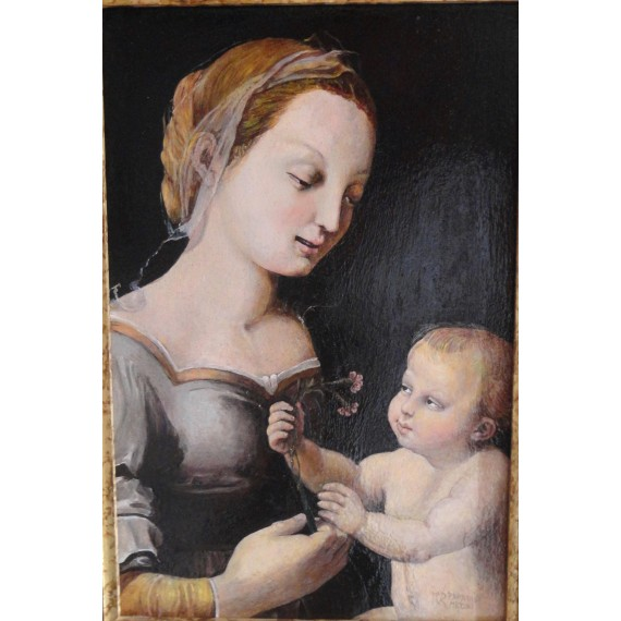 Madonna con bambino (Raffaello)