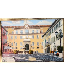 Lovers in Castel Gandolfo